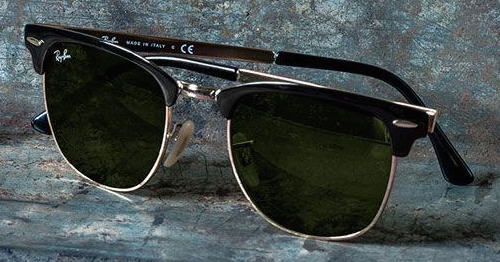 f60024a89bbe52 Nieuwe klassieker  Ray-Ban Clubmaster Metal zonnebril